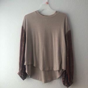 Long Sleeve Sweater/Blouse.